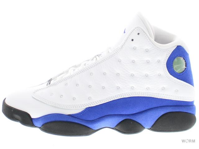 sports shoes 3f902 e6651 AIR JORDAN 13 RETRO 414,571-117 white hyper royal-black Air Jordan retro-free  article