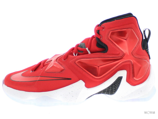 huge selection of a097c dacd4 NIKE LEBRON XIII 807,219-610 unvrsty red white-blk-lsr orng Nike ...