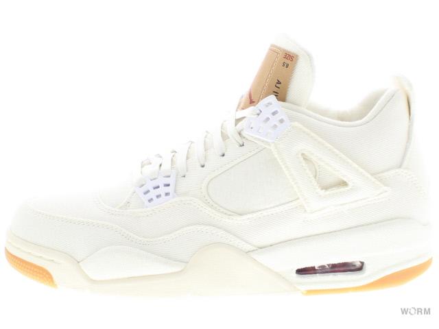 reputable site a9482 7fce5 AIR JORDAN 4 RETRO LEVIS NRG ao2571-100 white/white-white Air Jordan  nostalgic Levis-free article