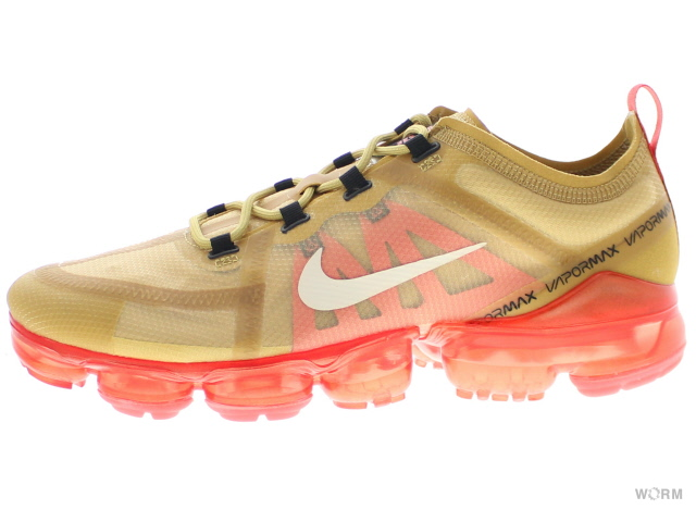 c5fa7a935c NIKE AIR VAPORMAX 2019 ar6631-701 club gold/light cream Nike air vapor max  ...