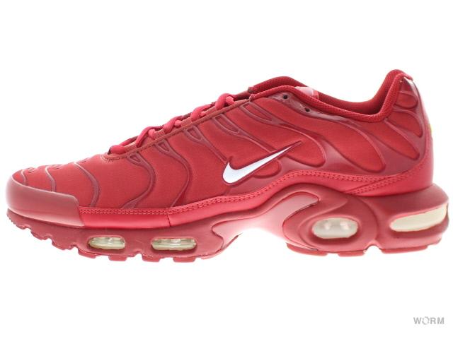 hot sale online 9d655 d20e4 NIKE AIR MAX PLUS TXT 647,315-616 pepper red white Kie Ney AMAX plus ...
