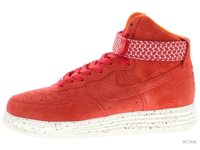 NIKE LUNAR FORCE 1 HI UDFTD SP 652806-660 university red/university red ナイキ ルナ フォース ハイ 未使用品【中古】