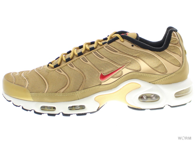 NIKE AIR MAX PLUS QS 903,827 700 metallic golduniversity red Kie Ney AMAX plus free article