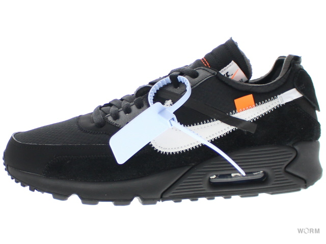 Off White Nike Air Max 90 Black Cone White AA7293 001