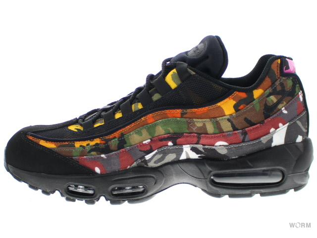 NIKE AIR MAX 95 ERDL PARTY ar4473-001 black/multi-color ナイキ エア マックス 未使用品【中古】
