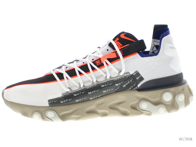 NIKE REACT WR ISPA ar8555-100 summit white/deep royal blue ナイキ リアクト 未使用品【中古】