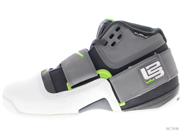 NIKE ZOOM SOLDIER 316643-011 anthracite/white-mn grn-cl gry ナイキ ズーム ソルジャー 未使用品【中古】