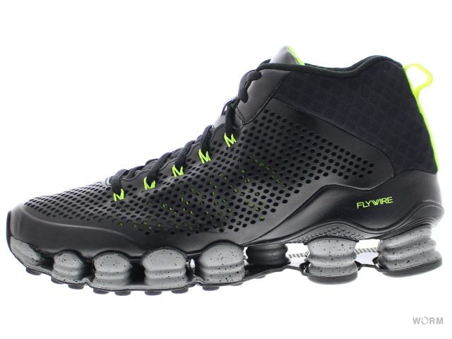 NIKE SHOX TLX MID SP 677737-007 black/reflect silver-volt ナイキ ショックス 未使用品【中古】