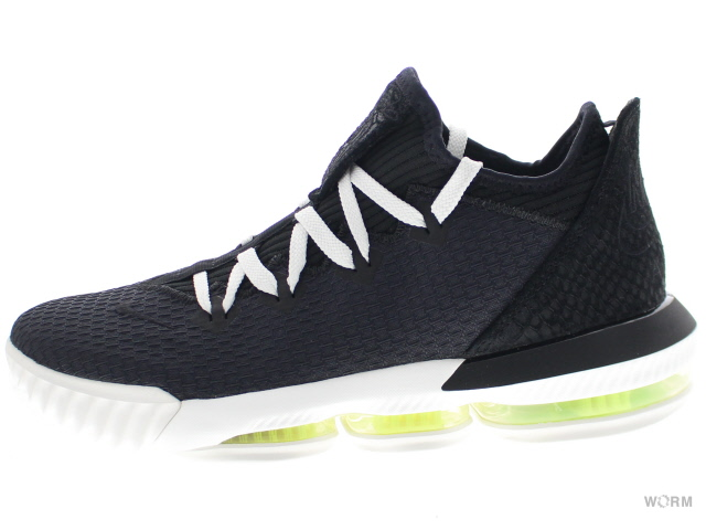NIKE LEBRON XVI LOW ci2668-004 black/black-summit white-volt ナイキ レブロン 16 ロウ 未使用品【中古】