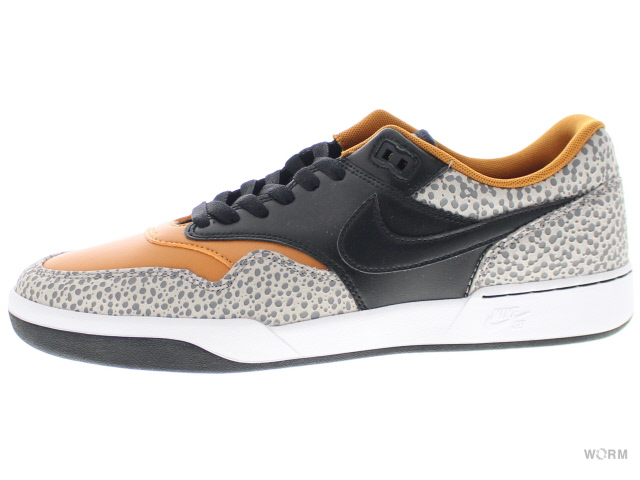NIKE SB GTS RETURN PRM L cv6283-001 cobblestone/black-monarch ナイキ 未使用品【中古】
