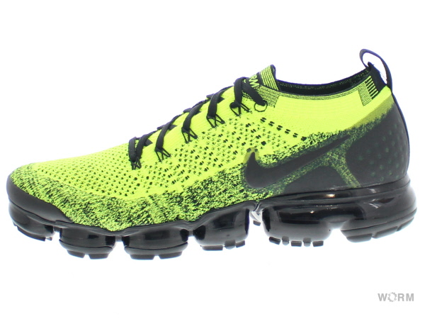 NIKE AIR VAPORMAX FLYKNIT 2 942842-701 volt/black-volt ナイキ エア ヴェイパーマックス フライニット 未使用品【中古】