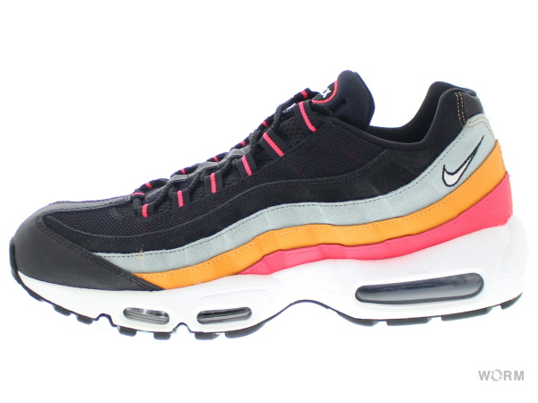 NIKE AIR MAX 95 ESSENTIAL at9865-002 black/white-ocean cube-kumquat ナイキ エア マックス 未使用品【中古】