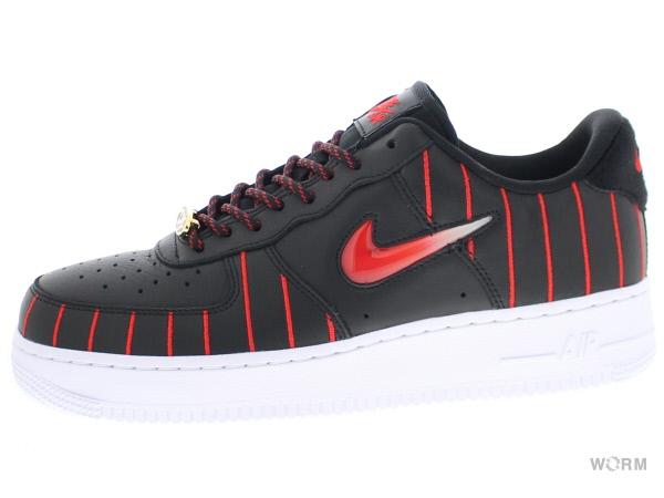 Nike WMNS Air Force 1 Jewel QS Black/Red CU6359-001 UK Sale