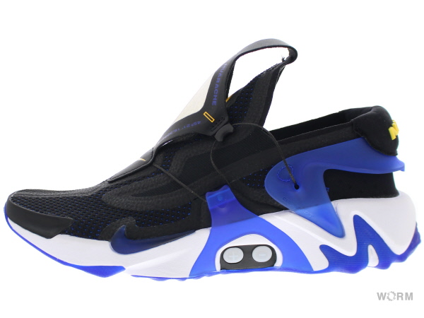 """Æ¥½å¤©å¸'å´ Nike Adapt Huarache Bv6397 002 Black Racer Blue Amarillo Êイキ ¢ダプト Ïラチ Ɯªä½¿ç""""¨å"""" ĸå¤ Worm Tokyo"""