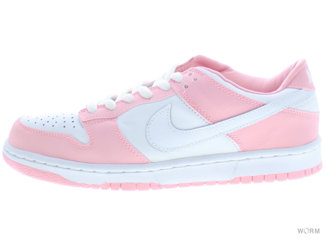 WMNS NIKE DUNK LOW PRO 302517-111 white/white-real pink dunk unread items