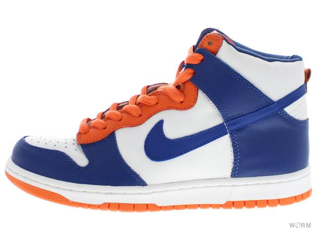 NIKE DUNK HIGH 304717-141 white/blue ribbon-orange blaze Nike Dunk Hi  unread items