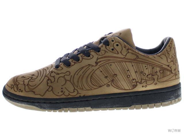 NIKE DUNK LOW BY CHRIS LUNDY 308428-001 olive grey/olive grey-obs ダンク 未使用品【中古】