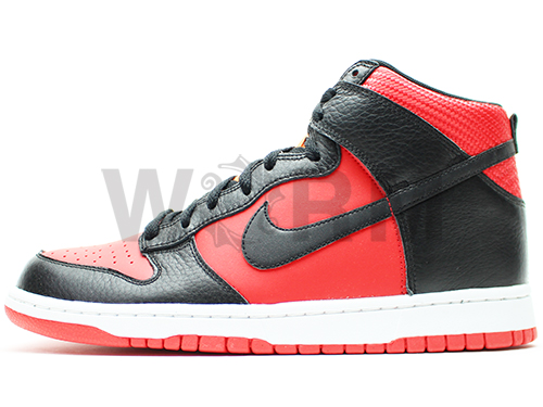 NIKE DUNK HIGH 317982-608 challenge red/black-mandarin dunk Hi unread items