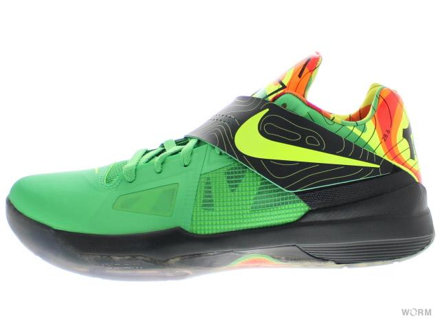 NIKE ZOOM KD IV 473679-303 lush green/volt-black-tm orng ナイキ ケーディー 4 未使用品【中古】