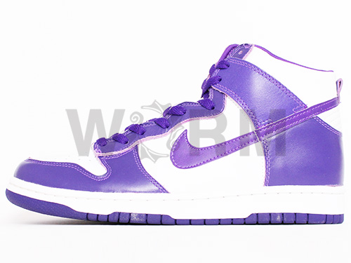 "NIKE DUNK HIGH LE ""1999"" 630,335-151 white/varsity purple dunk-free article"