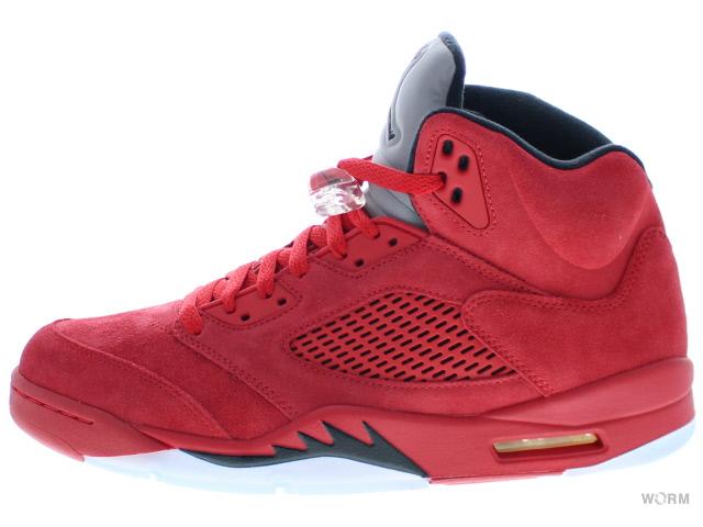 quality design ae817 82d0c AIR JORDAN 5 RETRO 136,027-602 university red/black Air Jordan 5-free  article