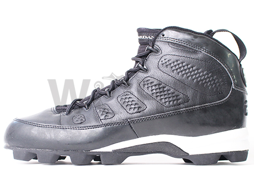 AIR JORDAN MCS IX 304699-001 black/metalic silver Air Jordan 9 spike unread items