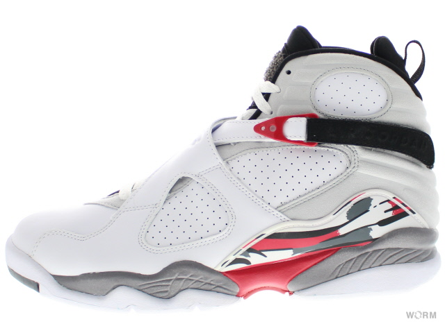 pretty nice 0f9b1 e5888 AIR JORDAN 8 RETRO CDP 305,381-103 white black-true red Air Jordan 8-free  article