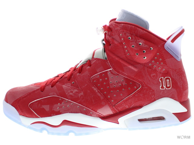 new concept 8d102 578e0 AIR JORDAN 6 RETRO x SLAM DUNK 717302-600 varsity red/varsity red-white Air  Jordan slam dunk unread items