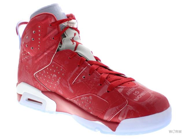 bb0a54a3bbb1 AIR JORDAN 6 RETRO x SLAM DUNK 717302-600 varsity red varsity red-white Air  Jordan slam dunk unread items