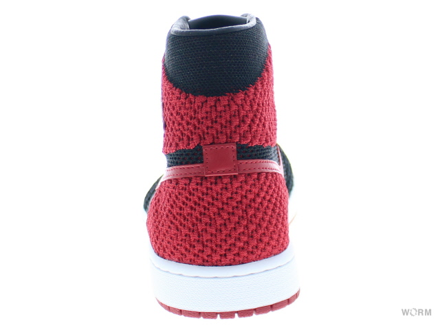 cheaper 82794 60894 AIR JORDAN 1 RETRO HI FLYKNIT 919,704-001 black varsity red-white Air  Jordan 1 fly knit-free article