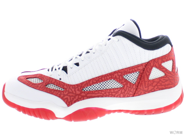 AIR JORDAN 11 RETRO LOW IE 919712-101 white/gym red-black エア ジョーダン 11 未使用品【中古】