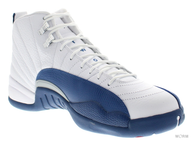 AIR JORDAN 12 RETRO 130690-113 white/french bl-mtllc slvr-vrst Air Jordan 12 unread items