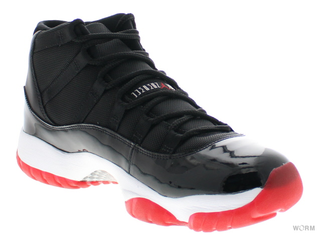 ead6cdcf057604 AIR JORDAN 11 RETRO CDP 136046-062 black varsity red-white エア ジョーダン 11  未使用品 中古