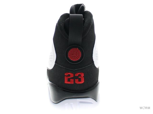 best service f8527 686be AIR JORDAN 9 RETRO 302370-102 white varsity red-black Air Jordan unread  items