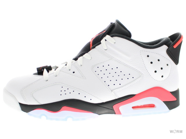 AIR JORDAN 6 RETRO LOW 304401-123 white infrared 23-black Air Jordan unread  items a9cbca428c6b