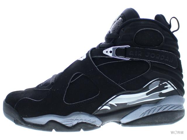new product 9e7be 30f4a AIR JORDAN 8 RETRO 305381-001 black chrome air Jordan 8 unread items