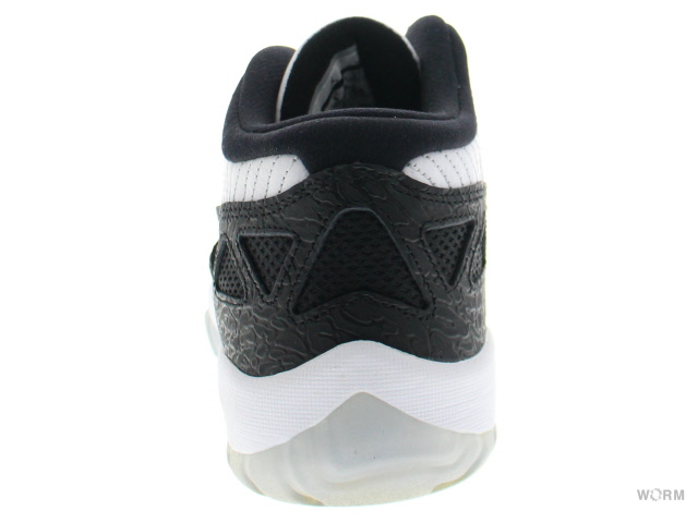 2bd20f372b22 AIR JORDAN 11 RETRO LOW 306008-100 white metallic silver-BLAC Air Jordan 11  unread items