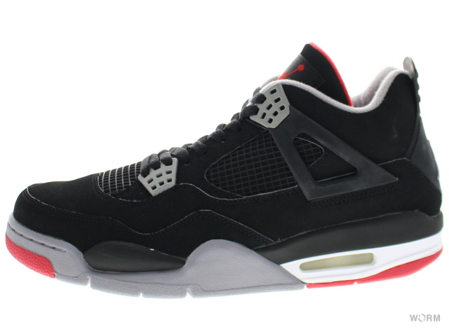 71a367797a2ff6 AIR JORDAN 4 RETRO CDP 308497-003 black cement-grey fire red Air Jordan 4  unread items