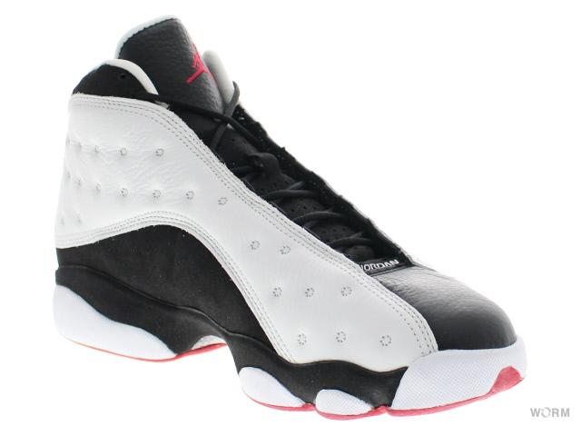 sneakers for cheap 50bbe 24167 AIR JORDAN 13 RETRO CDP 309259-104 white black-true red Jordan unread items