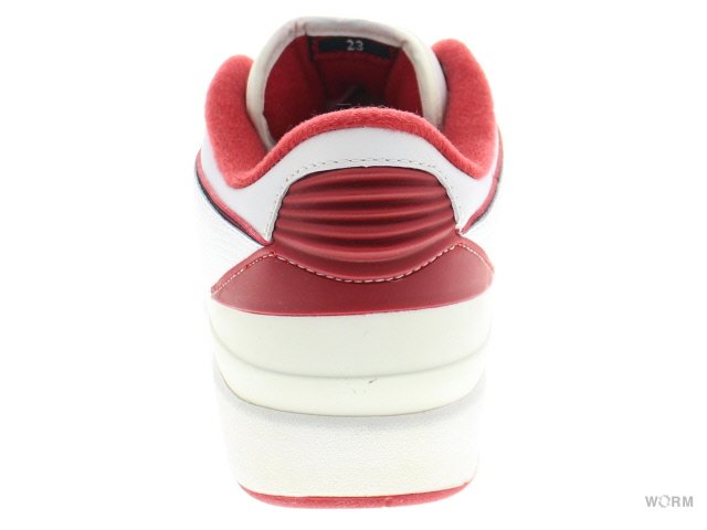 f7c6bf5cc97e 2 black-varsity red AIR JORDAN 2 RETRO LOW 309837-101 white   中古  ジョーダン 未使用  ...