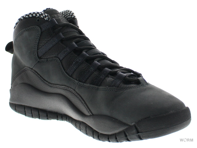 AIR JORDAN 10 RETRO CDP 310805-061 black/dark shadow空氣喬丹10未使用的物品