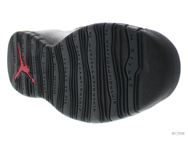AIR JORDAN 10 RETRO CDP 310,805-061 black/dark shadow Air Jordan 10-free article