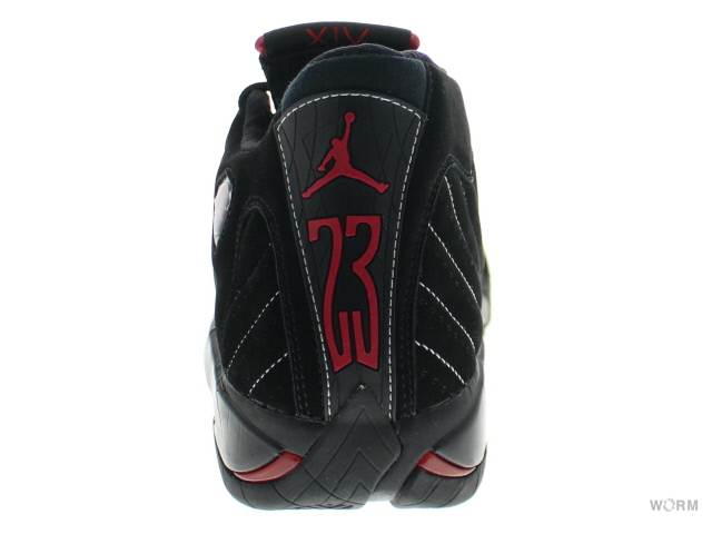 best service 6dda9 651d0 AIR JORDAN 14 RETRO CDP 311832 – 061 black varsity red Air Jordan 14 unread  items