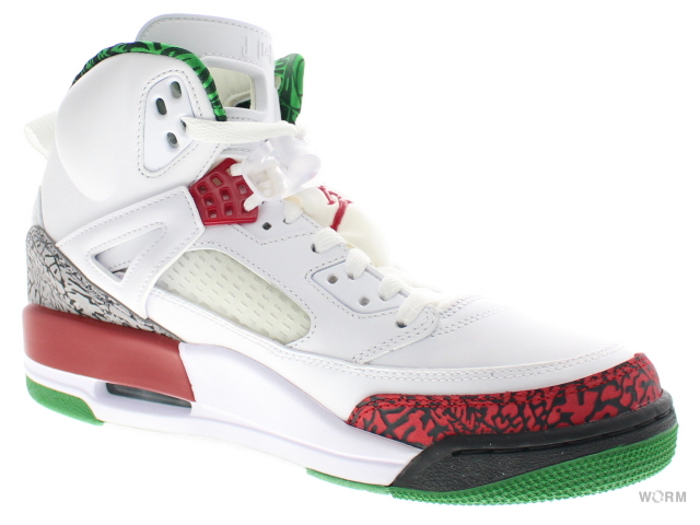 sports shoes fad21 12702 JORDAN SPIZIKE 315371-125 white vrsty rd-cmnt gry-clssc 죠단스피자이크스파이즈익크미사용품