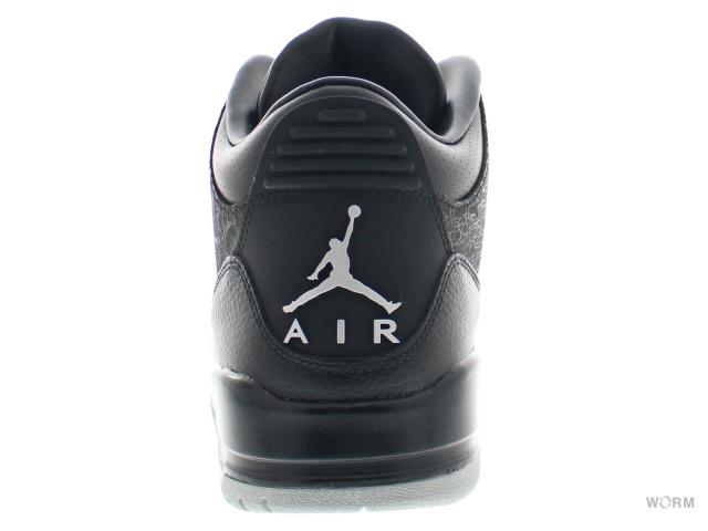 big sale 786ac ea92e AIR JORDAN RETRO 3 FLIP 315767-001 black metallic silver Air Jordan 3  unread items