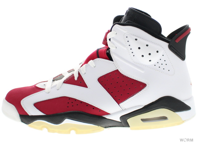 "WORM TOKYO | Rakuten Global Market: ""CARMINE"" AIR JORDAN 6 RETRO CDP 322719-161 white/black-carmine Air Jordan 6 unread items"