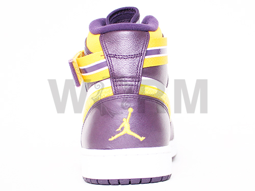AIR JORDAN 1 HIGH STRAP 342132-571 grand purple/varsity maize-wht Air Jordan unread items