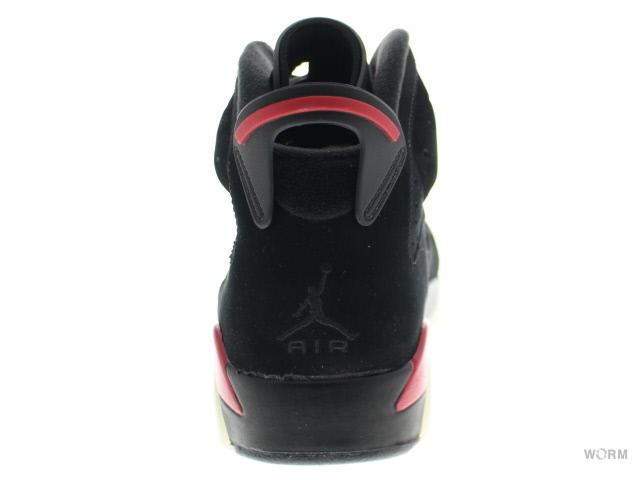 innovative design 1b8c9 0f865 AIR JORDAN 6 RETRO 384664-061 black varsity red Air Jordan 6 unread items