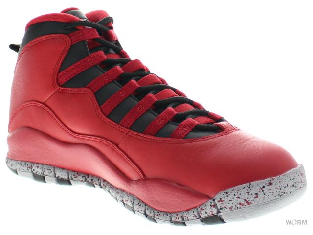 buy online caa10 f0a90 ... AIR JORDAN 10 RETRO 30TH BULLS OVER BROADWAY 705178-601 gym red black-  ...