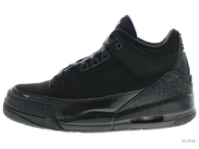"3c12db6db10 AIR JORDAN 3 RETRO ""BLACK CAT"" 136064-002 black/dark charcoal ..."